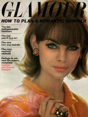Glamour Cover - April 1963 by David Bailey
