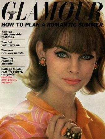 Glamour Cover - April 1963