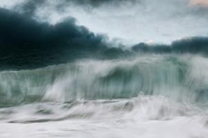 Storm Crashing by David Baker