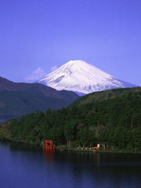 Ashinoko, Hakone and Mt. Fuji, Japan by David Ball