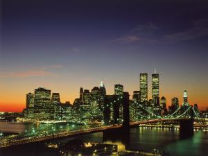Brooklyn Bridge & Lower NYC by David Ball