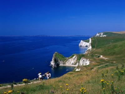 Durdle Door Coastline, Weymouth Bay, Dorset, UK by David Ball
