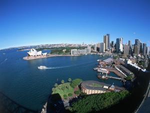 Harbor & City, Sydney, Australia by David Ball