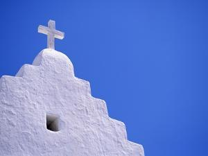Old Church in Mikonos by David Ball