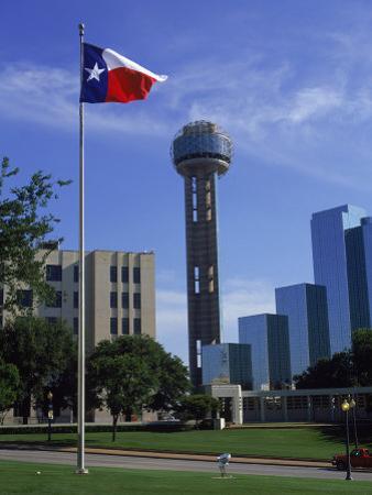 Reunion Tower, Dallas, Texas by David Ball