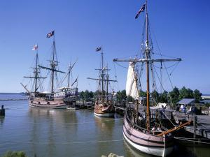 Ship Replicas, Jamestown Settlement, VA by David Ball