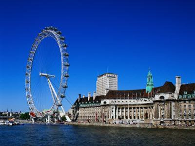 The London Eye, London by David Ball
