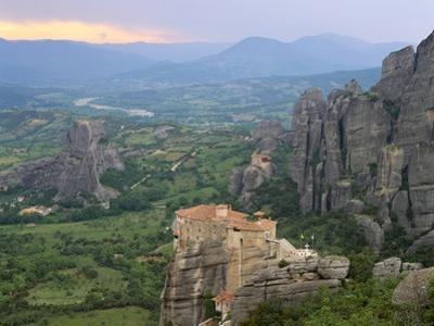 UNESCO World Heritage Site in Meteora, Greece by David Ball