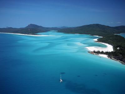 Whitehaven Beach, Queensland, Australia by David Ball