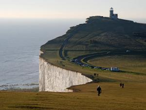 East Sussex, Beachy Head Is a Chalk Headland on South Coast of England, England by David Bank