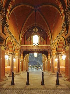 Entrance of St. Pancras International, Home of Eurostar and Gateway to the Continent by David Bank
