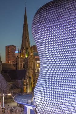 Facade of the Selfridges Department Store in Birmingham, England. by David Bank