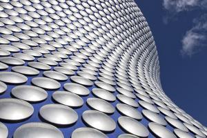 Facade of the Selfridges Department Store in Birmingham, England by David Bank