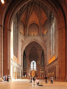 Liverpool Cathedral is the Church of England Cathedral of the Anglican Diocese of Liverpool, Built  by David Bank