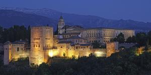The Alhambra Is a Palace and Fortress Complex Located in Granada, Andalusia, Spain. by David Bank