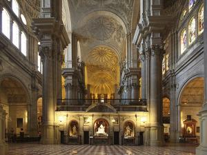 The Cathedral of Mßlaga Is a Renaissance Church in City of Mßlaga in Andalusia in Southern Spain by David Bank