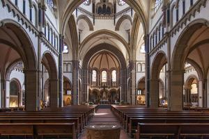 The Herz-Jesu-Kirche in Koblenz Is a Catholic Church in the Old Town of Koblenz by David Bank