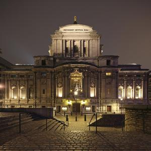 The Methodist Central Hall Westminster Is a Multi-Purpose Venue and Tourist Attraction, London by David Bank