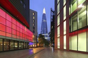 The Shard Is an 87-Storey Skyscraper, London, England by David Bank