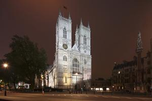 Westminster Abbey in the City of Westminster, London, England by David Bank