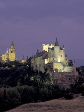 Alcazar, Segovia, Spain by David Barnes
