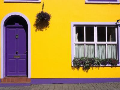 Bed and Breakfast, Kinsale, County Cork, Ireland by David Barnes
