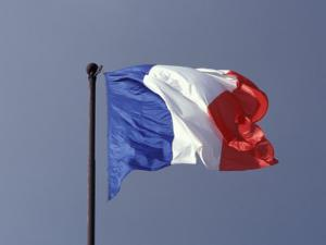 French Flag, France by David Barnes