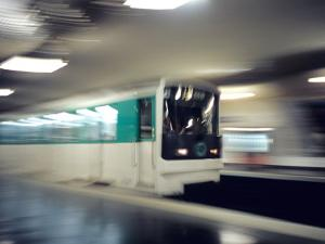 Metro, Paris, France by David Barnes