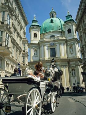 Peterskirche (St. Peter's Church), Vienna, Austria by David Barnes