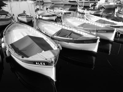 Wooden Fishing Boats, Riviera, Alpes-Maritimes, Villefranche-Sur-Mer, France by David Barnes