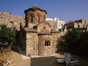 Agioi Apostolo's Church, Dating from the 14th Century, Pyrgi, Chios (Khios), Greek Islands, Greece by David Beatty