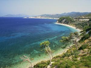 Beach and Coastline Near Kokkari, Samos, Dodecanese Islands, Greek Islands, Greece, Europe by David Beatty