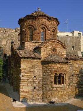 Byzantine Agio Apostoloi Church, Pyrgi, Chios, North Aegean Islands, Greek Islands, Greece by David Beatty