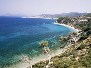 Coastline Near Kokkeri, Island of Samos, Greece by David Beatty