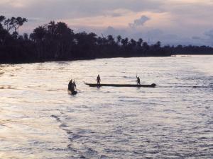 Congo River Near Kisangani, Democratic Republic of Congo (Zaire), Africa by David Beatty