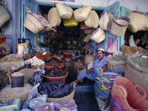 General Merchant in the Medina, Kaironan, Tunisia, North Africa by David Beatty