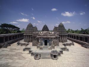 Hoysala Period Somnathpur Temple Dating from 1260 AD, Somnathpur, Karnataka State, India by David Beatty