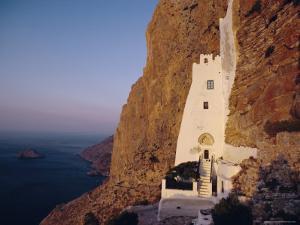 Monastery of Chozoviotissa, Amorgos, Cyclades Islands, Greece, Europe by David Beatty