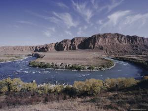 Naryn River, Kyrgistan (Kyrgyzstan) (Kirghizstan), Fsu, Central Asia, Asia by David Beatty