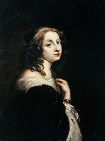 Portrait of Queen Christina of Sweden (1626-168), C. 1650
