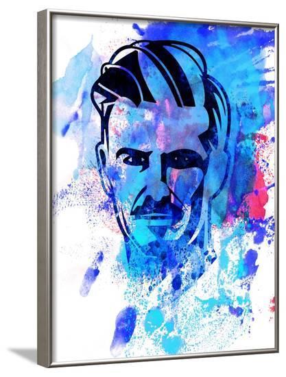 David Beckham-Jack Hunter-Framed Art Print