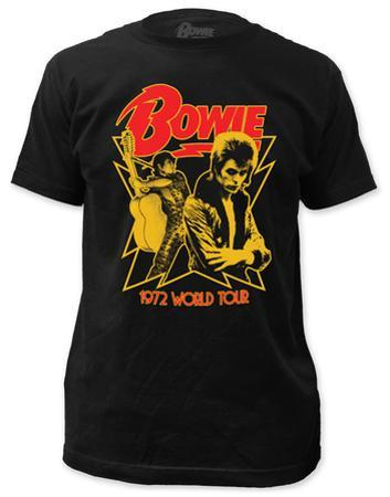 David Bowie - 1972 World Tour (slim fit)