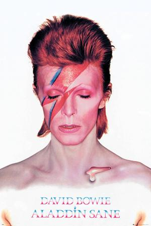 David Bowie- Aladdin Sane Album Cover