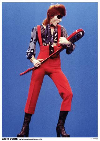 David Bowie- Holland 1974