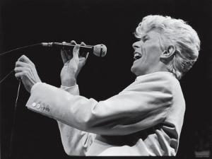 David Bowie Performing at Madison Square Garden