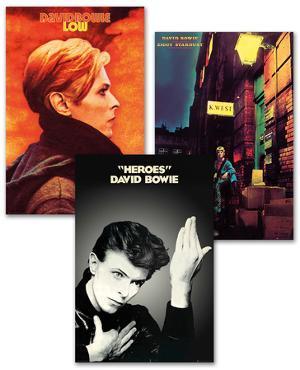 David Bowie Poster Set