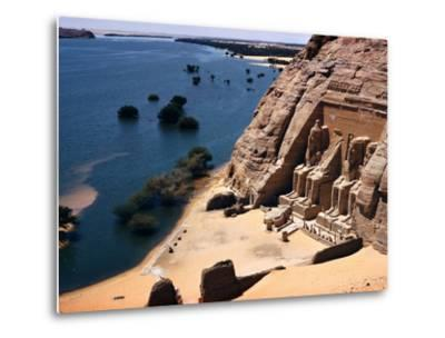 Ramses Temple and the Nile Shoreline at Abu Simbel by David Boyer