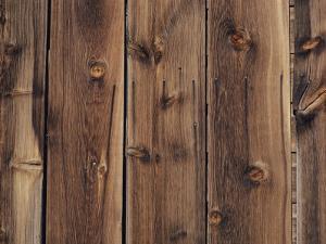 Wood-Paneled Wall by David Boyer