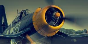 British Fighter Plane Wwii by David Bracher
