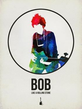 Bob Watercolor by David Brodsky